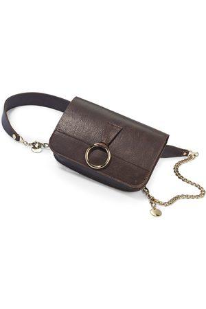 portray berlin Kvinder Håndtasker - Bæltetaske i nappaskind Fra brun