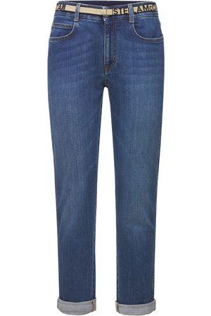 Stella McCartney Cotton Denim Skinny Boyfriend Jeans