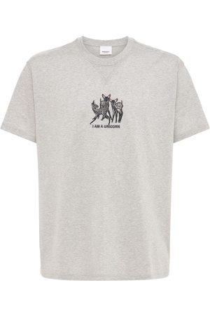Burberry Mænd Kortærmede - Printed Cotton Jersey T-shirt