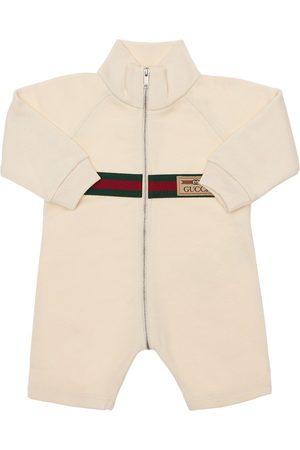 Gucci Piger Sparkedragter - Logo Cotton Romper