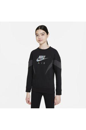 Nike Piger Sweatshirts - Air-sweatshirt i french terry til større børn (piger)