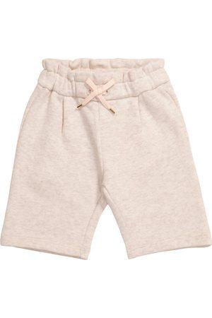 Chloé Baby cotton sweatpants