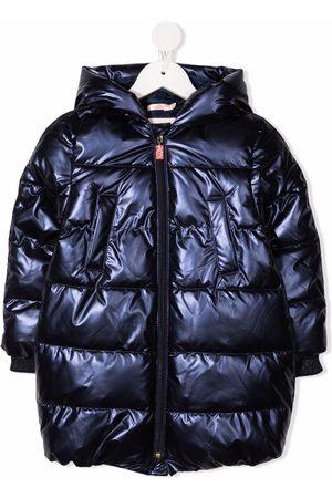 Billieblush Piger Vinterjakker - Metallic puffer jacket