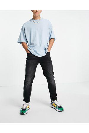 Lee Mænd Slim - Austin - Sorte jeans i slim fit