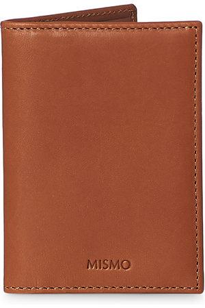 Mismo Mænd Punge - Cards Leather Cardholder Tabac