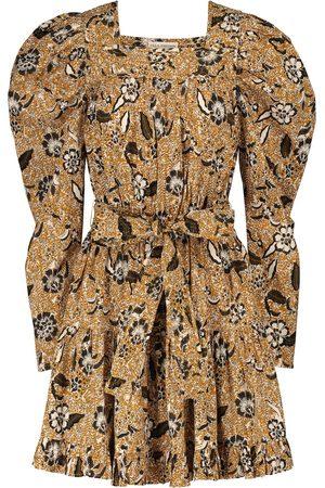 ULLA JOHNSON Nailah printed cotton-blend minidress