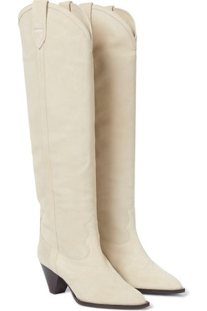 Isabel Marant Lihana suede knee-high boots