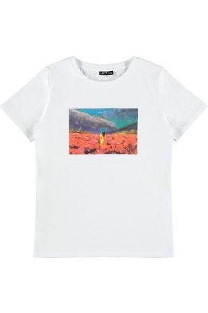 LMTD Kortærmede - T-shirt - NlfKatrine - Snow White m. Fotoprint