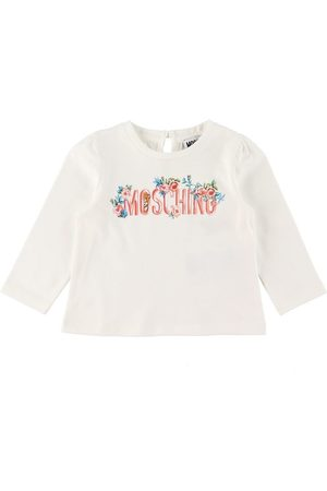 Moschino Bluser - Bluse - Cloud m. Tekst/Blomster