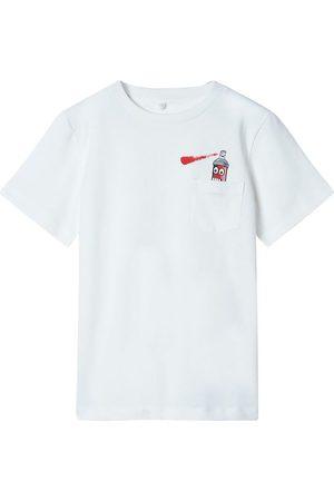 Stella McCartney Kortærmede - T-shirt - Spray - Off White