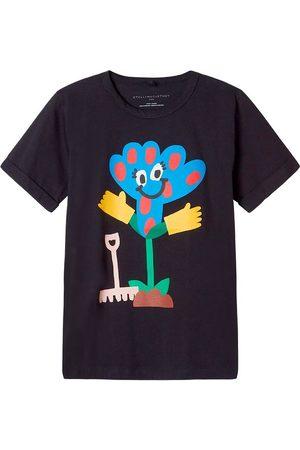 Stella McCartney Kortærmede - T-shirt - Spotted Flower - m. Print