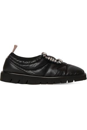 Roger Vivier 10mm Viv Winter Puffy Slip-on Sneakers