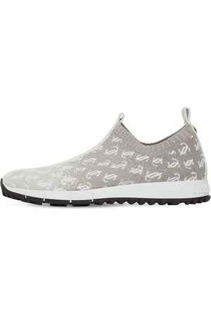 JIMMY CHOO 10mm Verona Knit Sock Slip-on Sneakers