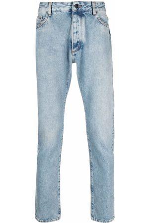 Palm Angels Jeans med smal pasform og logotryk