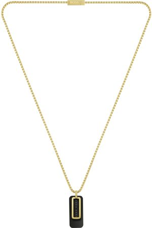 HUGO BOSS BOSS Double Pendant Necklace