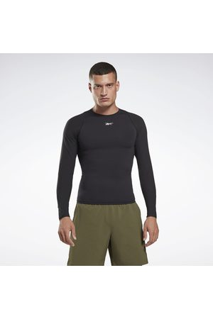 Reebok United By Fitness Compression Long Sleeve Shirt