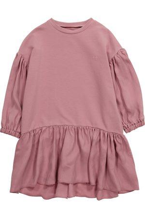 Il gufo Stretch-cotton jersey sweatshirt dress