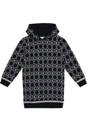 Chloé Intarsia-knit cotton and wool dress