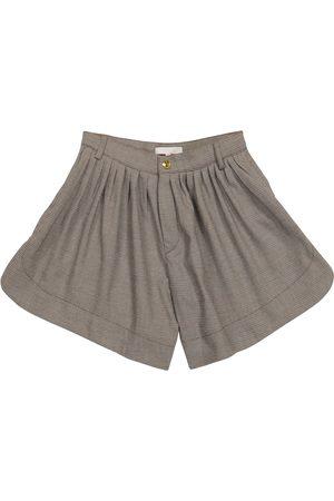 Chloé Piger Shorts - Checked shorts