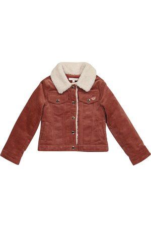 Chloé Kvinder Bomberjakker - Stretch-cotton corduroy jacket