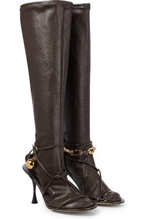 Bottega Veneta Dot leather boots