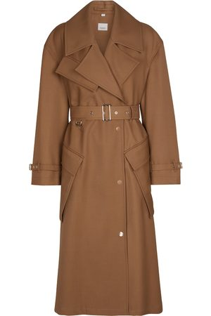 Burberry Belted wool coat