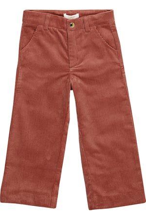 Chloé Piger Bukser - Stretch-cotton corduroy straight pants