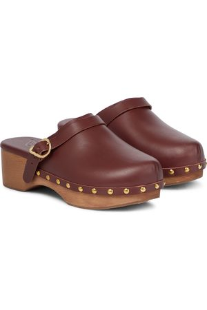 Ancient Greek Sandals Classic Closed leather clogs