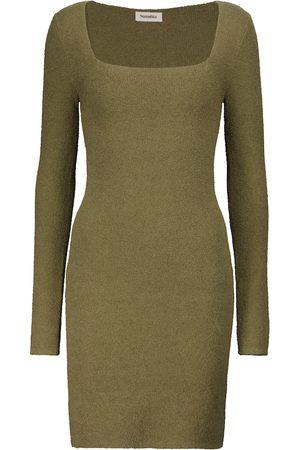 Nanushka Leah cotton-blend minidress
