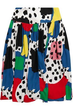 Stella McCartney Printed ruched skirt