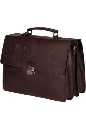 Burkely Mænd Laptop Tasker - Arbejdstaske Vintage Dean
