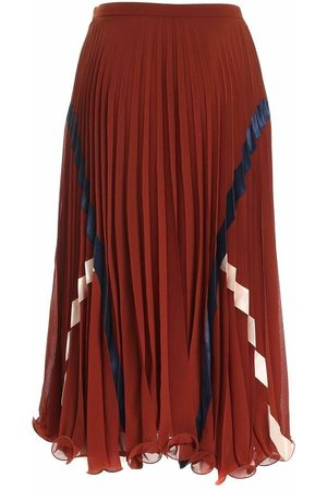 See by Chloé Plisse Skirt