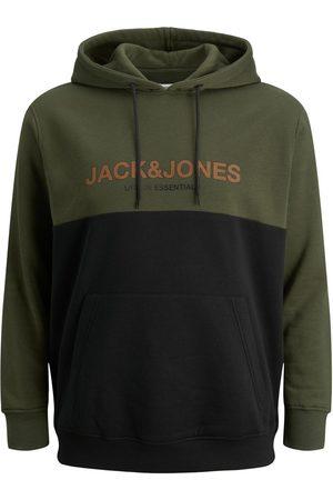 JACK & JONES Kængurulomme Plus Size Hoodie Mænd