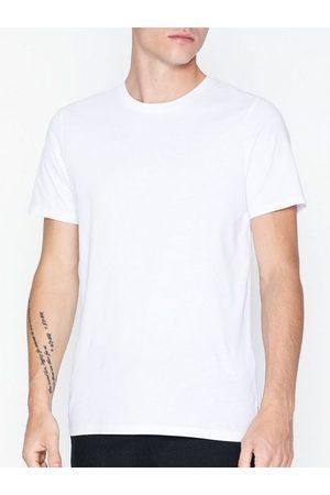 jack & jones Mænd Kortærmede - Jjeorganic Basic Tee Ss O-Neck Noos T-shirts & undertrøjer Hvid