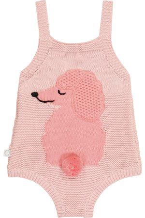 Stella McCartney Baby cotton and wool onesie