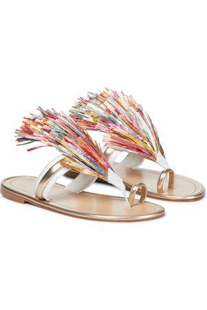 Christian Louboutin Festividade leather sandals