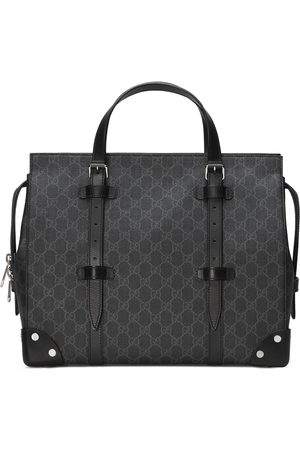 Gucci GG tote bag with leather details