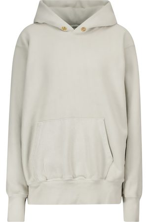 Les Tien Ombré cotton fleece hoodie