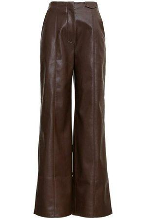 Nanushka Namas Pants in Vegan Leather
