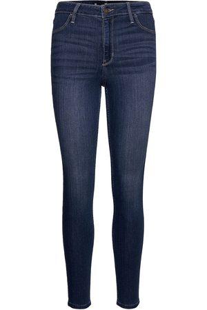 Hollister Hco. Girls Jeans Skinny Jeans Blå