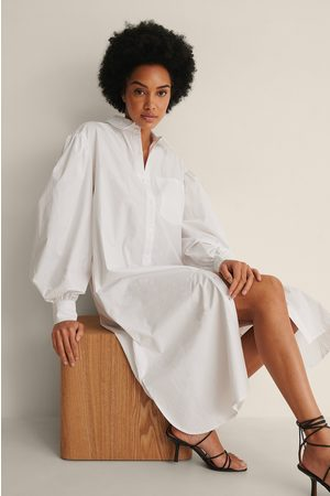 NA-KD Økologisk Oversize Skjortekjole