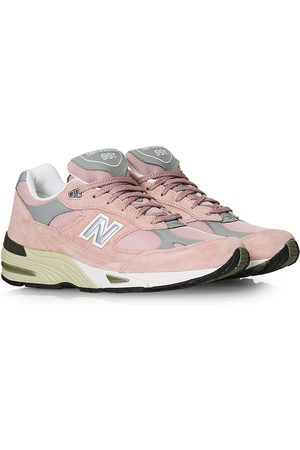 New Balance Mænd Sneakers - Made In England 991 Sneaker Pink/Grey