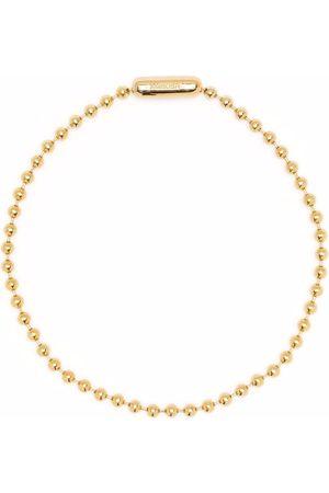 AMBUSH Choker-halskæde med kuglekæde