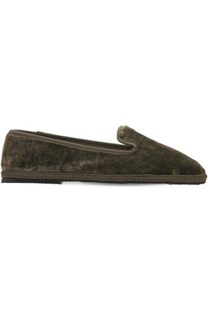 AG Kvinder Flade sko - 10mm Velvet Loafers