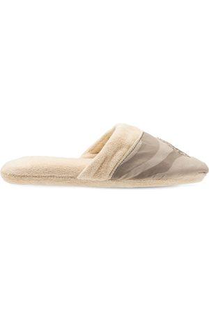 Roberto Cavalli Macrozebrage Slippers