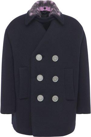 Prada Virgin Wool Double Breast Coat