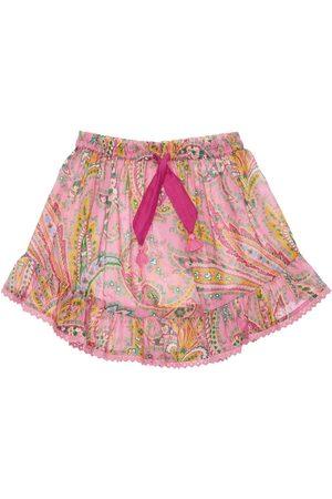 ZIMMERMANN Paisley Print Cotton Skirt