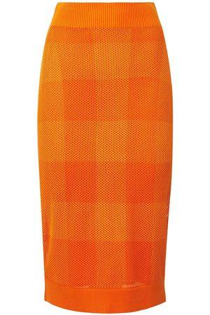 Burberry Zafina Knit Midi Pencil Skirt