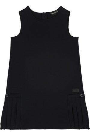 Emporio Armani Cotton-blend jersey dress