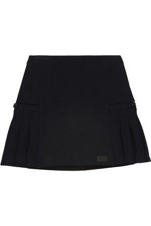 Emporio Armani Piger Nederdele - Cotton-blend jersey skirt